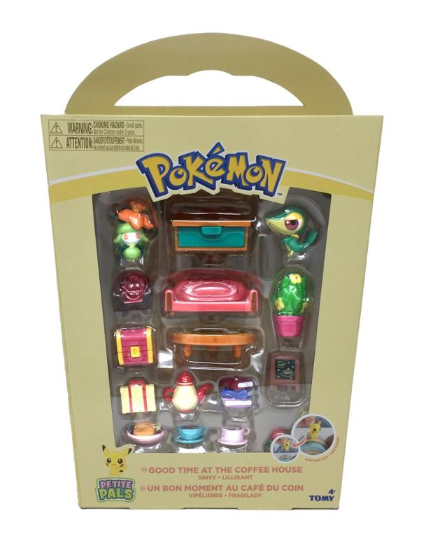 Pokemon Good Time at the Coffee House Playset