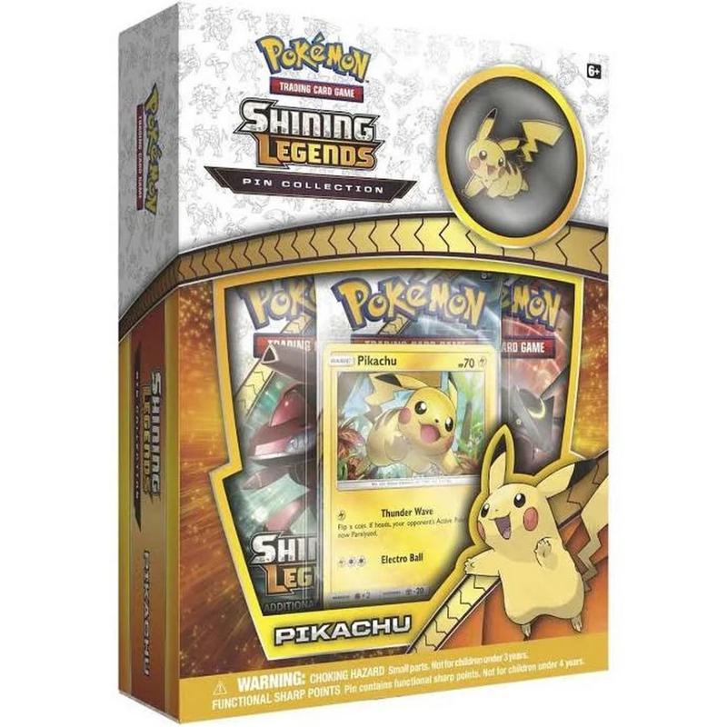 Pokemon Shining Legends Pikachu Pin Box