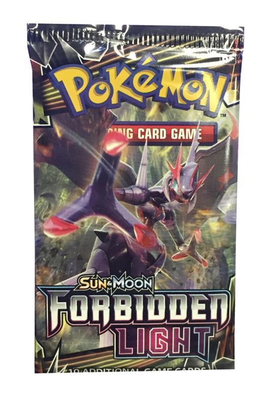 Pokemon Sun & Moon 6 Forbidden Light Booster