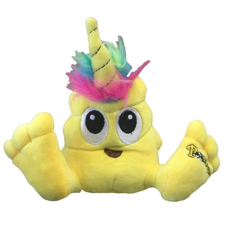 Poonicorn Plush Yellow 6 Inches