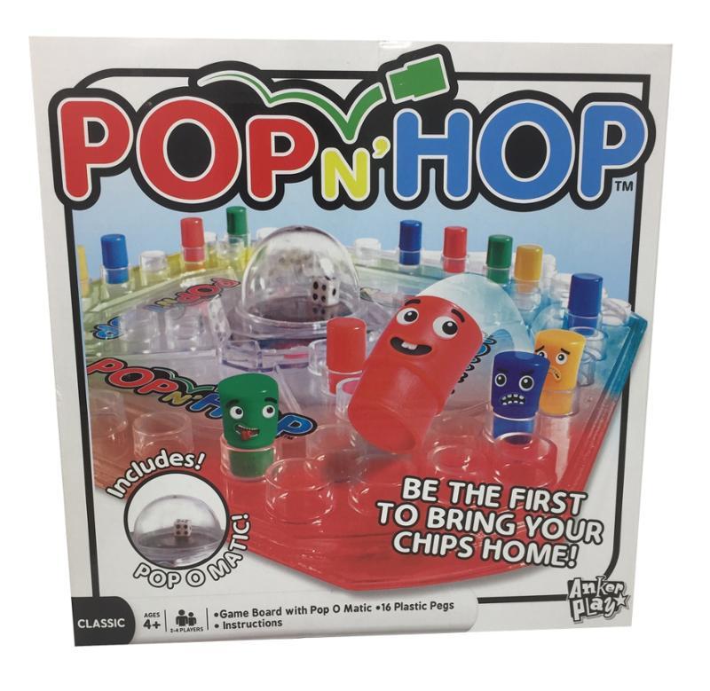 Pop n Hop Board Game