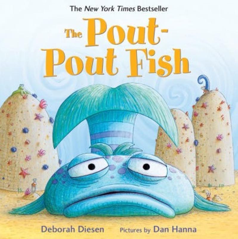 The Pout-Pout Fish Board Book