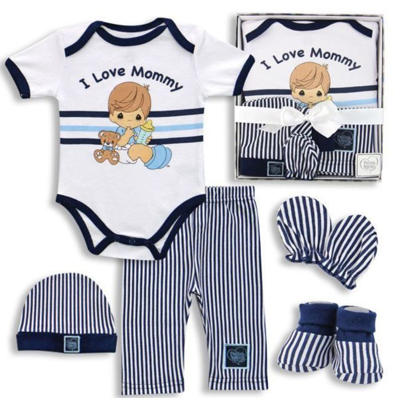 Precious Moments Baby Boy Box Set - I Love Mommy