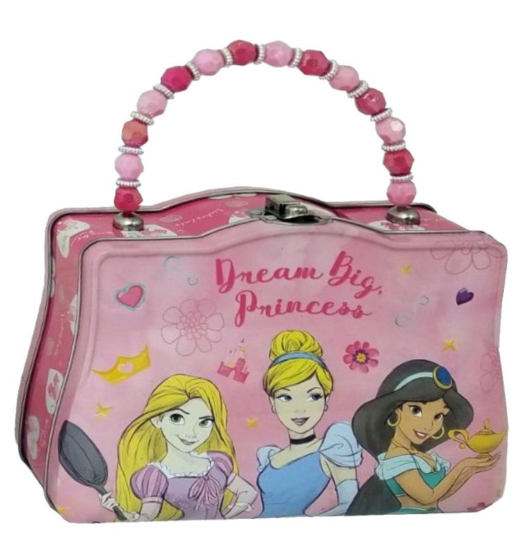 Princess Tin Purse Rapunzel, Cinderella, Jasmine