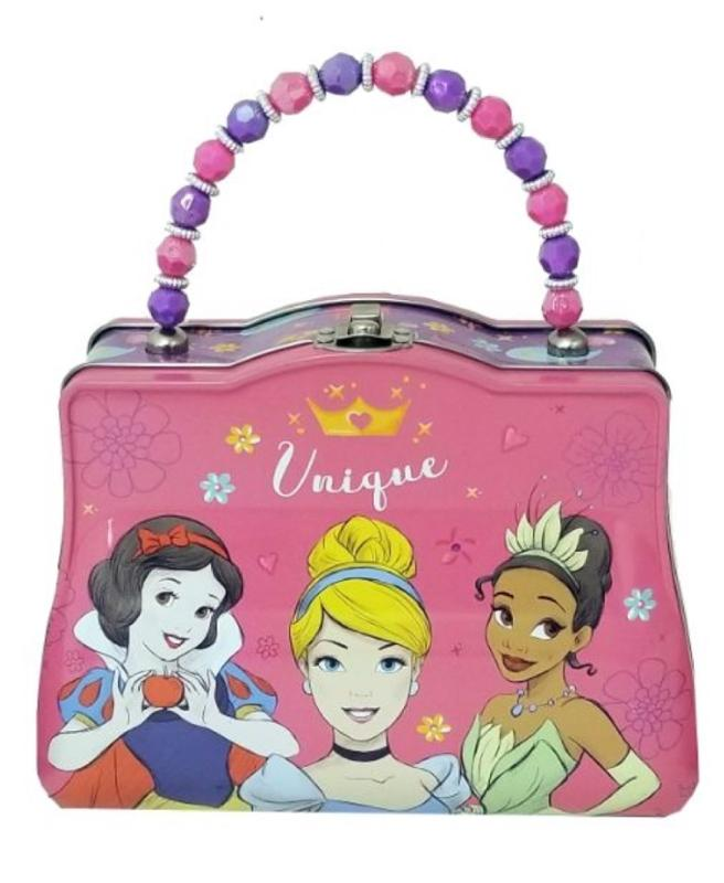 Princess Handbag Tin - Snow White, Cinderella, Tiana