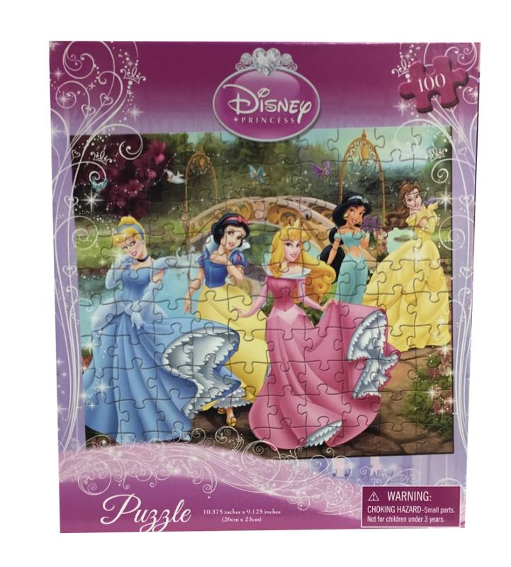 Princess In The Park 100 Piece Puzzle