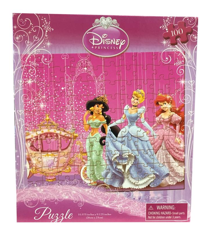 Princess with Carriage 100 Piece Puzzle