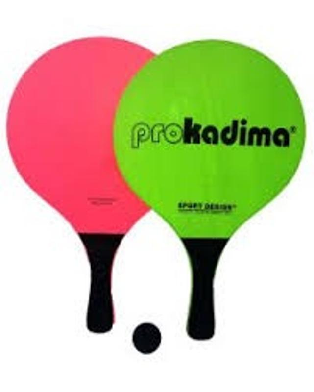 Pro Kadima Beach Paddles Green and Pink