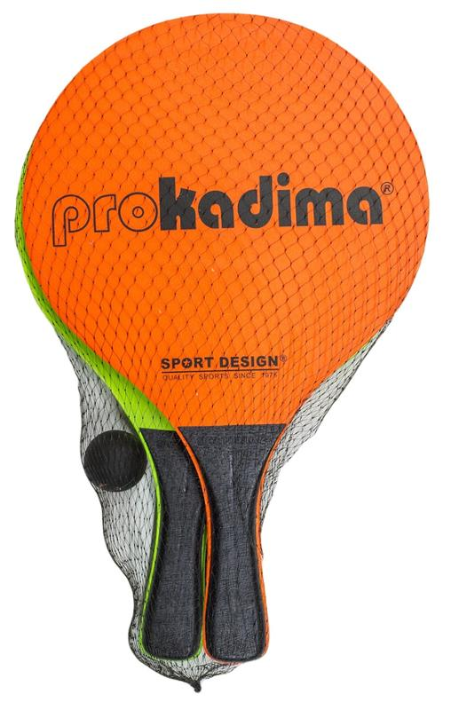 Pro Kadima Beach Paddles Orange and Green