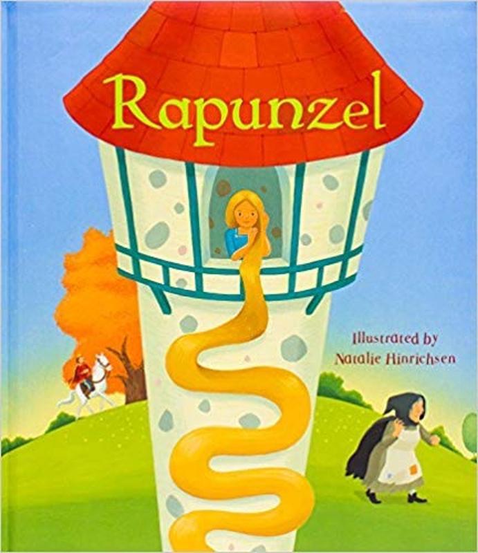 Rapunzel Fairy Tale Padded Book