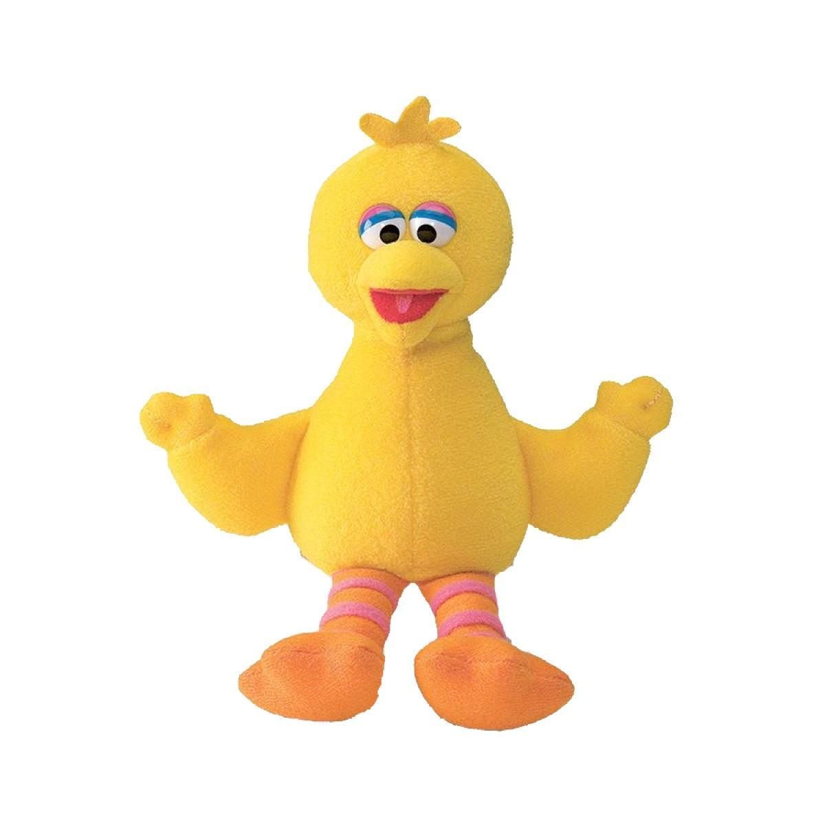 Sesame Street 7 Inch Bean Bag Big Bird