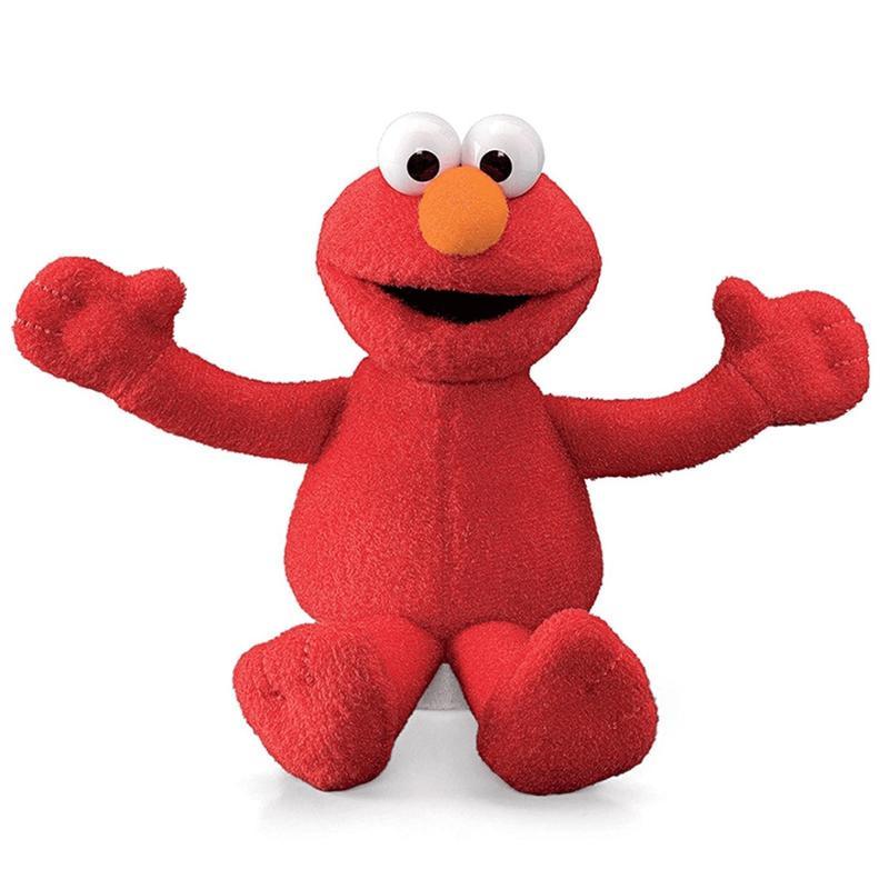 Sesame Street 7 Inch Bean Bag Elmo