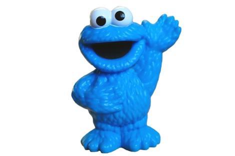 Sesame Street Friends Cookie Monster Figure