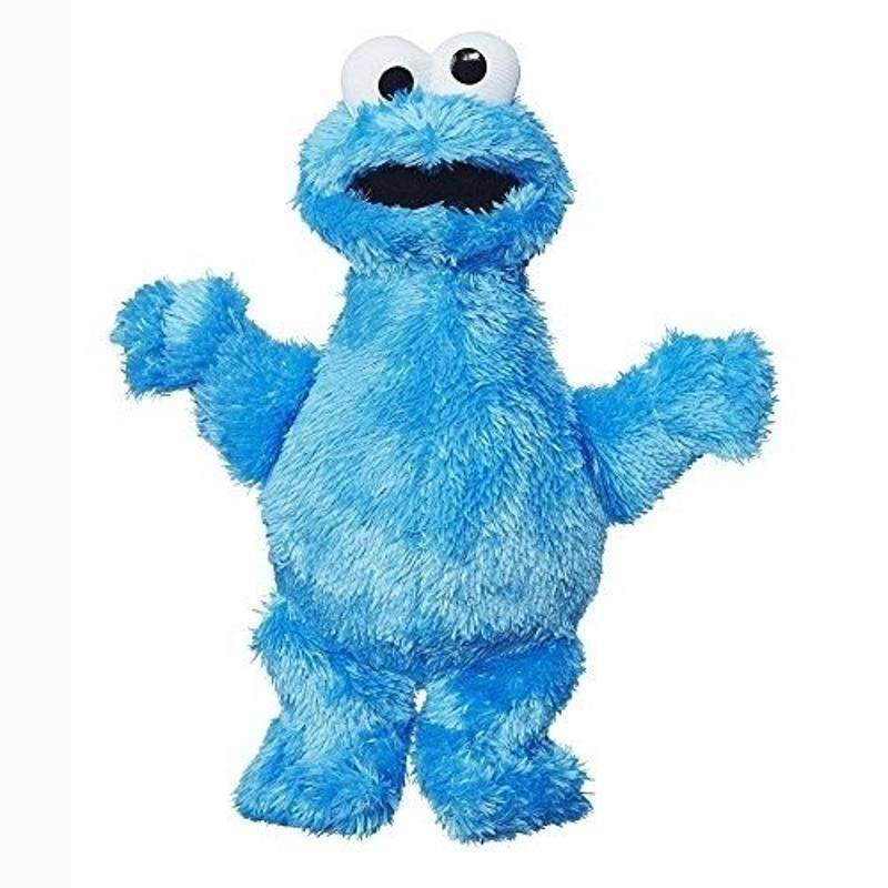 Sesame Street Elmo and Cookie Monster 10 Inch Plush