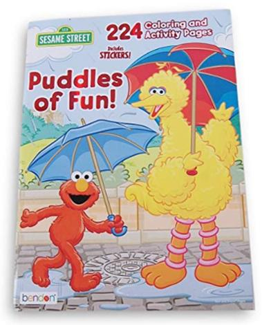 Puddle of Fun Coloring and Activity Book