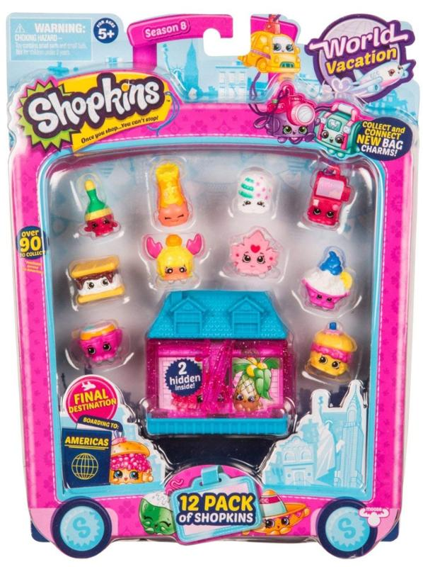 Shopkins Season 8 Wave 3 Americas Toy 12 Pack