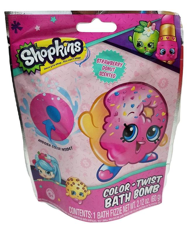 Shopkins Color Twist Bath Bomb