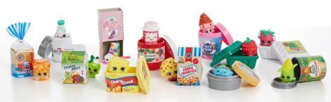 Shopkins Mini Pack 9 Piece Bundle