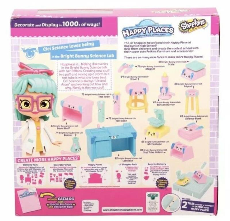 Shopkins Season 3 Welcome Pack - Bright Bunny Science Lab