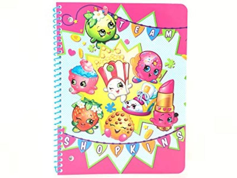Shopkins Single Subject Theme Notebook
