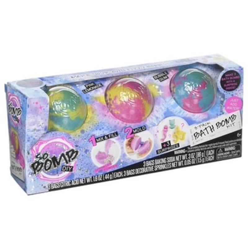 So Bomb DIY 3 Pack Bath Bomb Kit