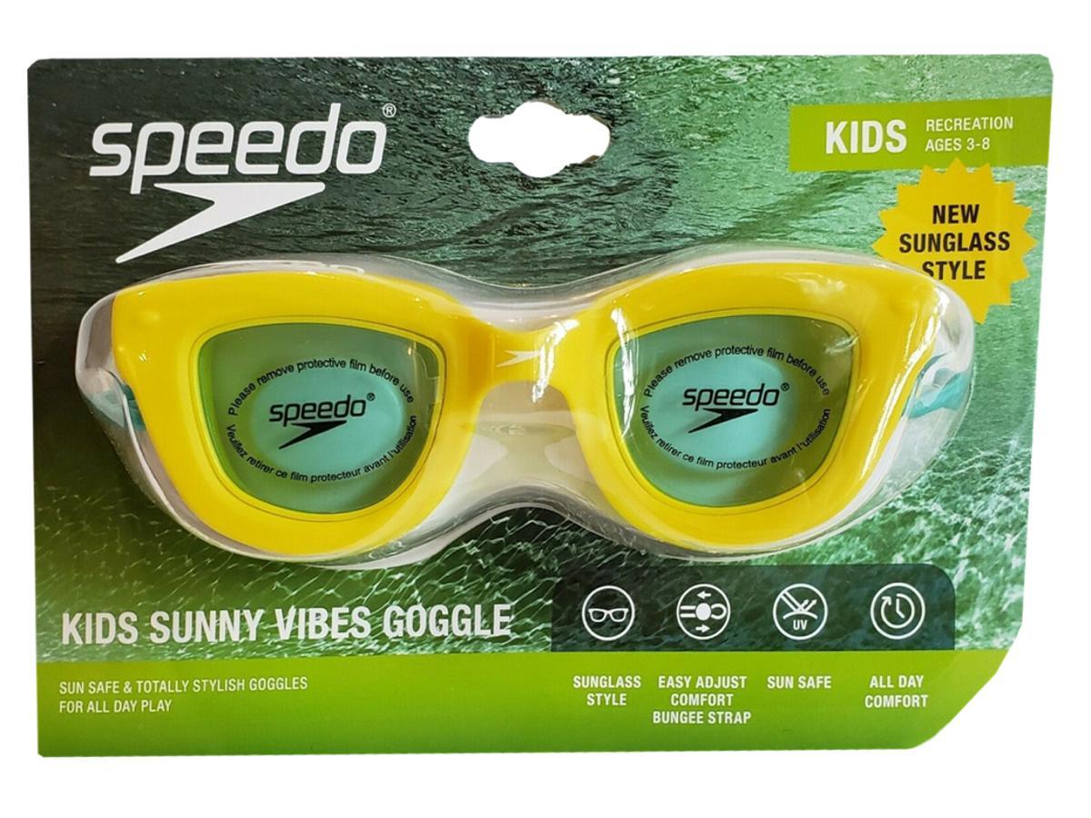 Speedo Kids Sunny Vibes Goggles Yellow
