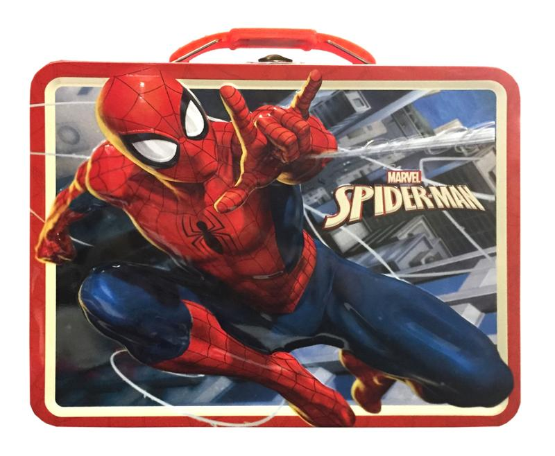 Spider-Man Embossed Lunch Storage Tin