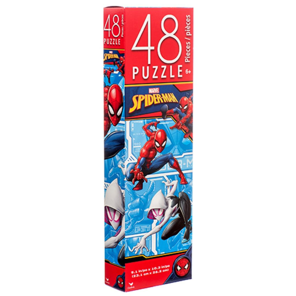 Spider - Man Into The Spider - Verse Spiderman Vs Spider - Woman Tower Puzzle