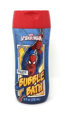 Spiderman Web Slinging Watermelon Scented Bubble Bath