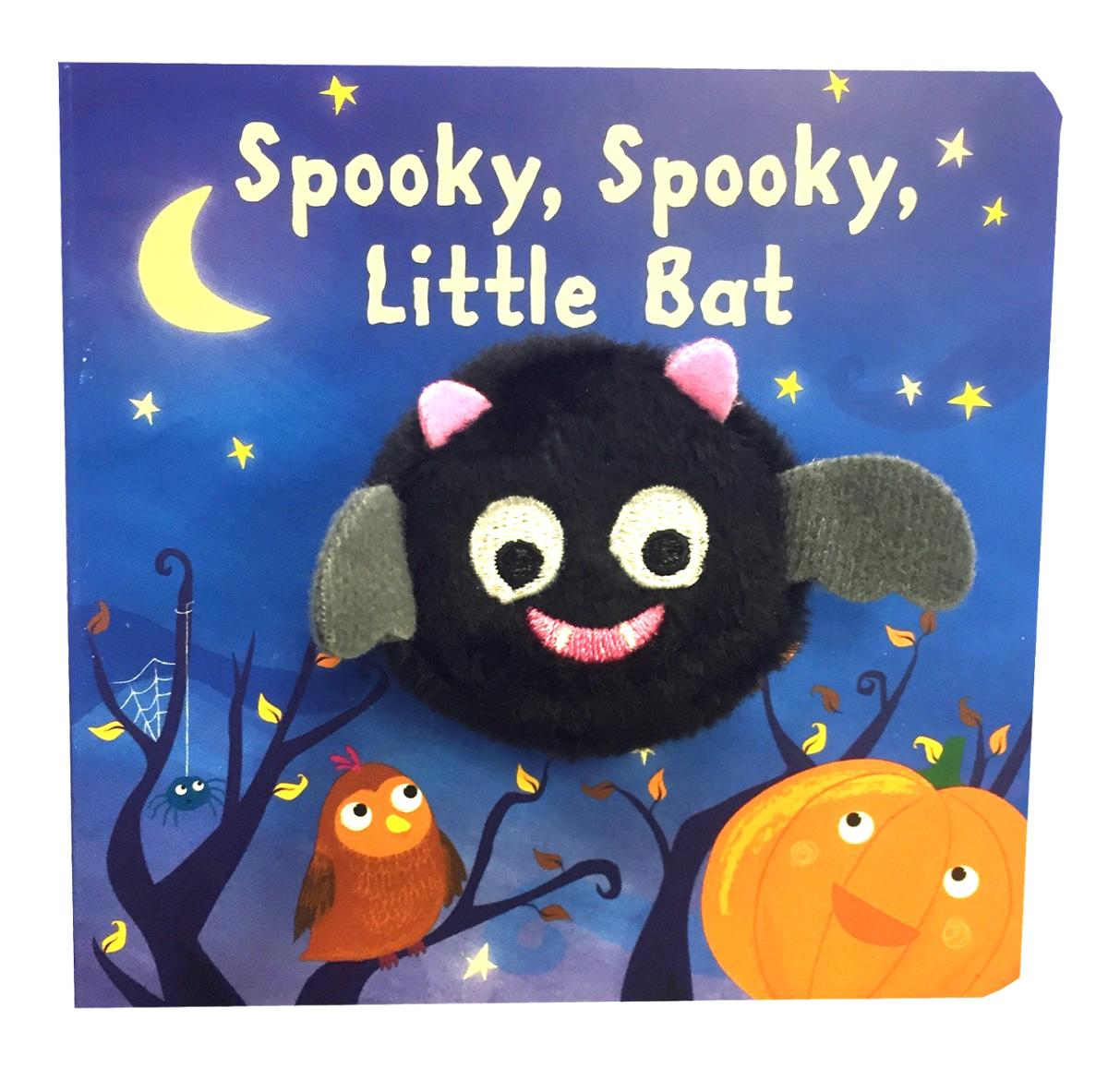 Spooky Spooky Halloween Little Bat Puppet Book