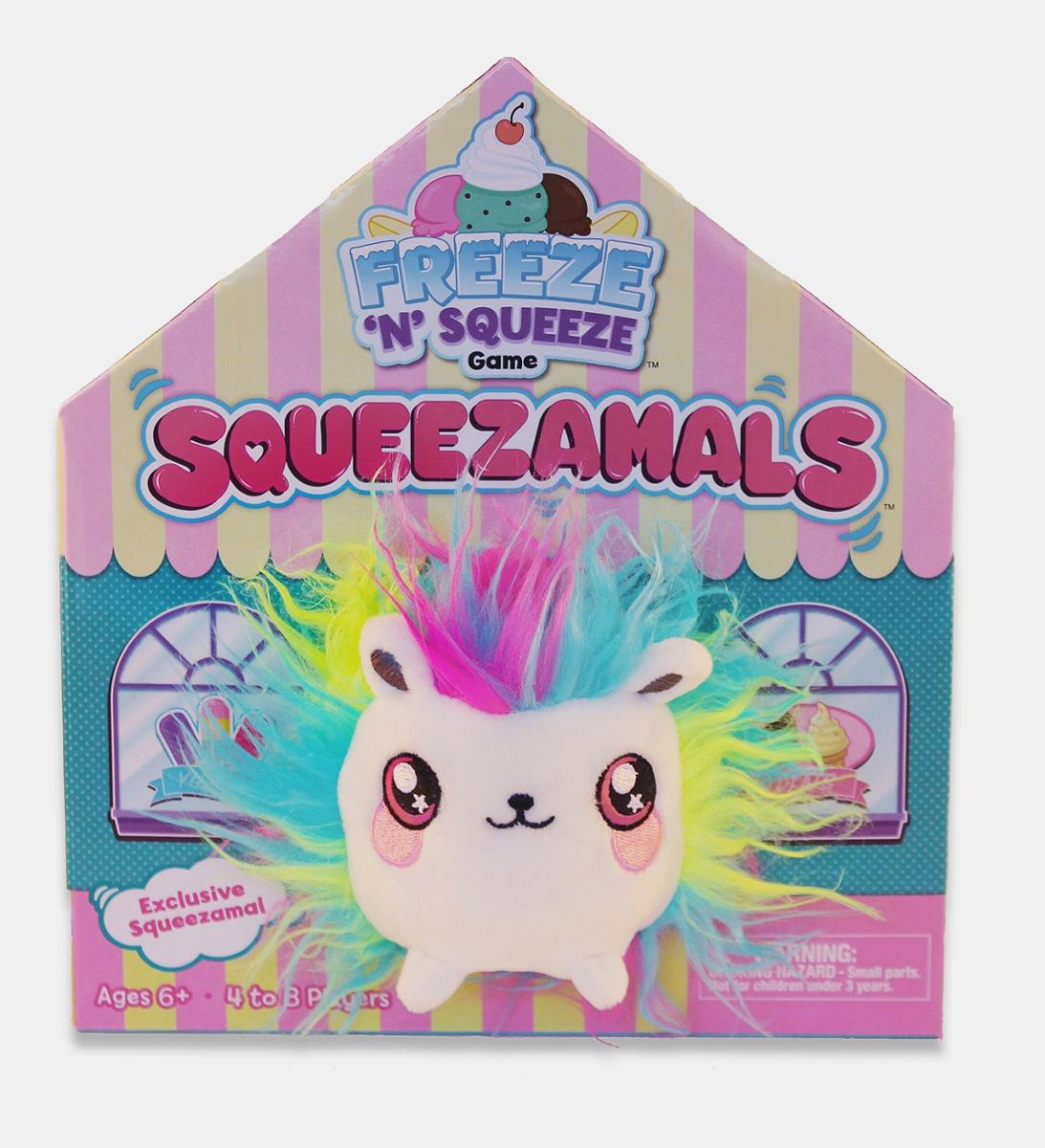Squeezamals Freeze N Squeeze Childrens Game