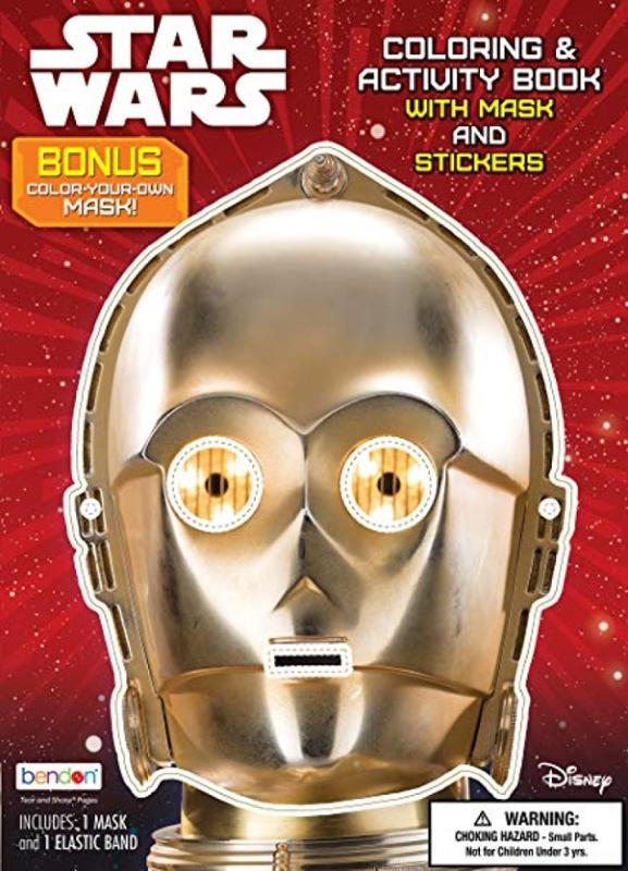 Star Wars Coloring and Activity Book with Mask