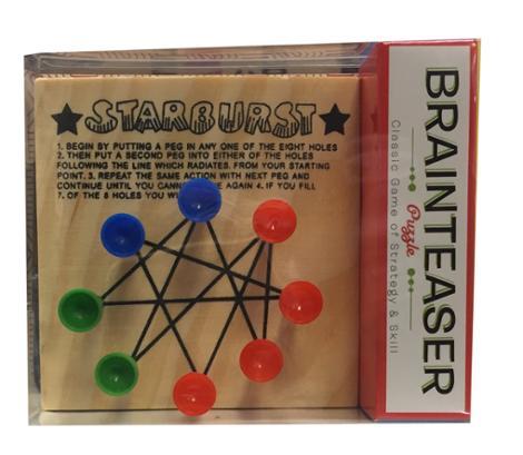 Starburst Wooden Brainteaser Puzzles