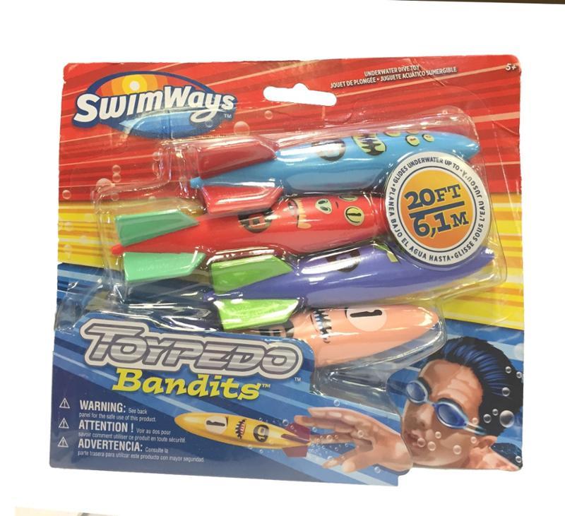 Swimway Toypedo Bandits Pool Toys