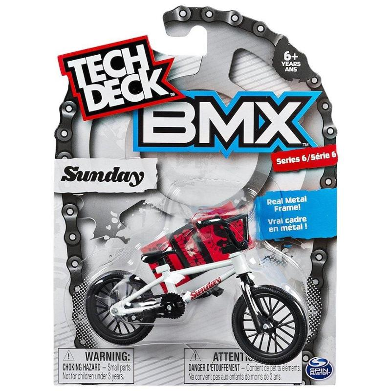 Tech Deck BMX Sunday Series 6 White