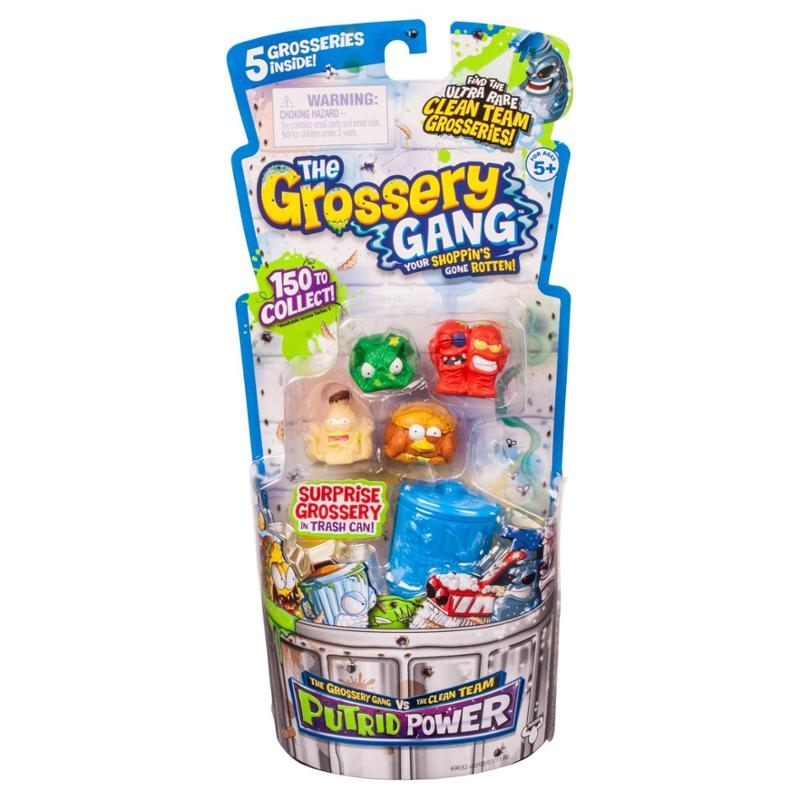 The Grossery Gang Season 3 Regular Pack Random Selection