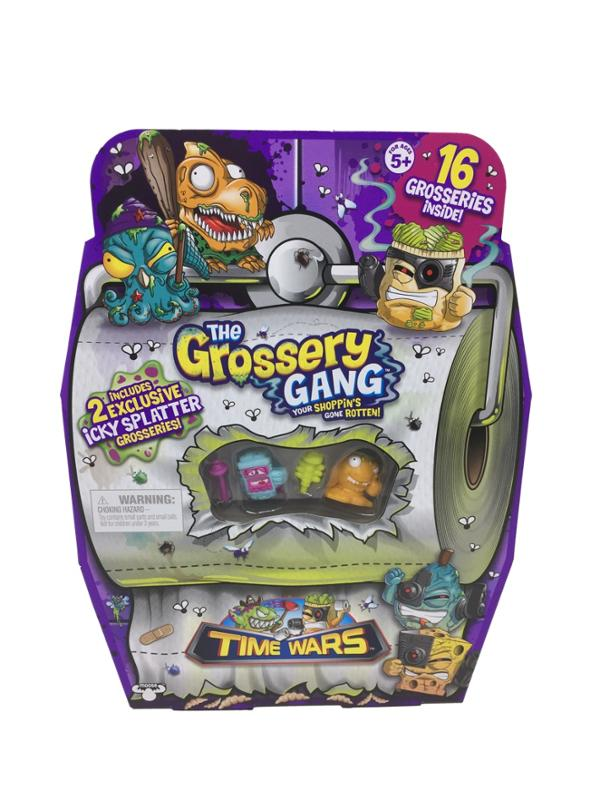 The Grossery Gang Season 5 Flush n Fizz Mystery Pack and Super Size Pack