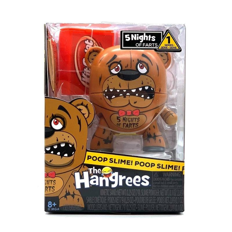 The Hangrees Slime Making Parodies - 5 Nights of Farts Series 1