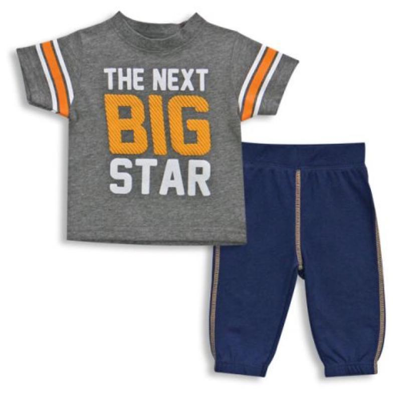 The Next Big Star Tee Shirt and Pants 6-9 Months
