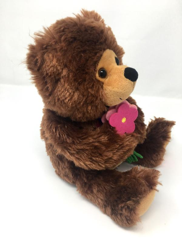 Get Well Soon Bear With Flower