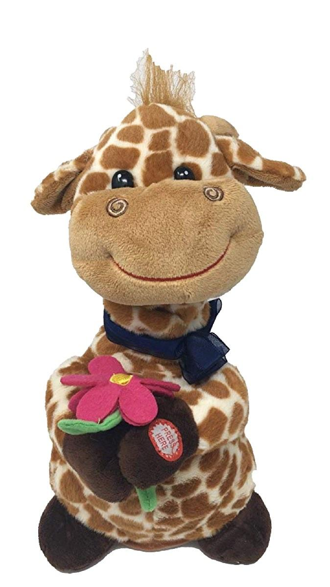 Get Well Soon Animated Giraffe with Music and Motion