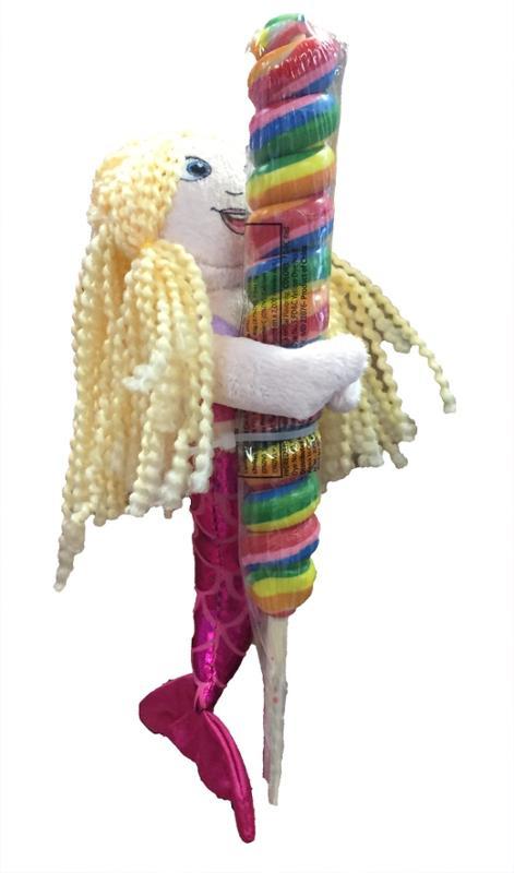 Lolly Plush Blond Mermaid