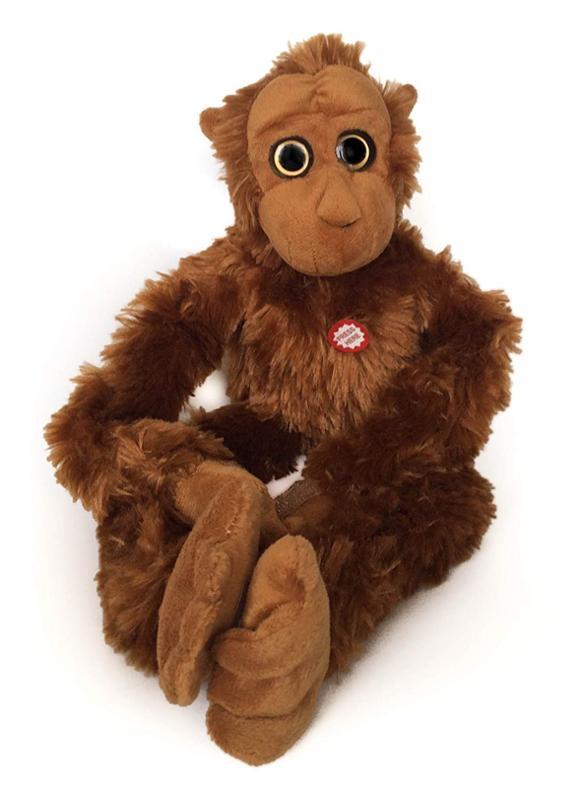Hanging Orangutan Monkey with Sound - 18 Inch