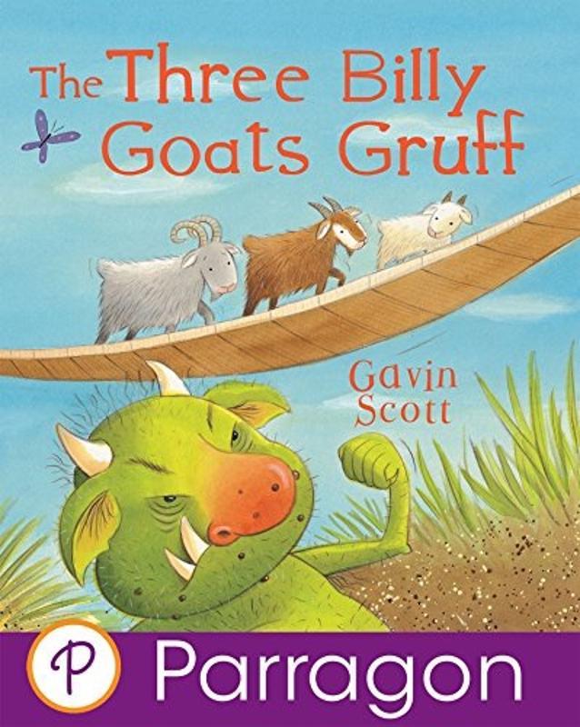 The Three Billy Goats Gruff Story Book
