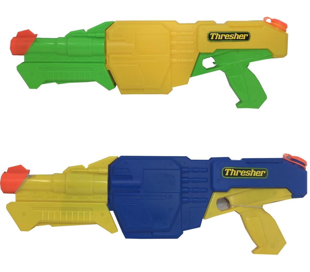 Water Warriors Thresher Water Blaster, Summer Outdoor Water Fun 6 Pack