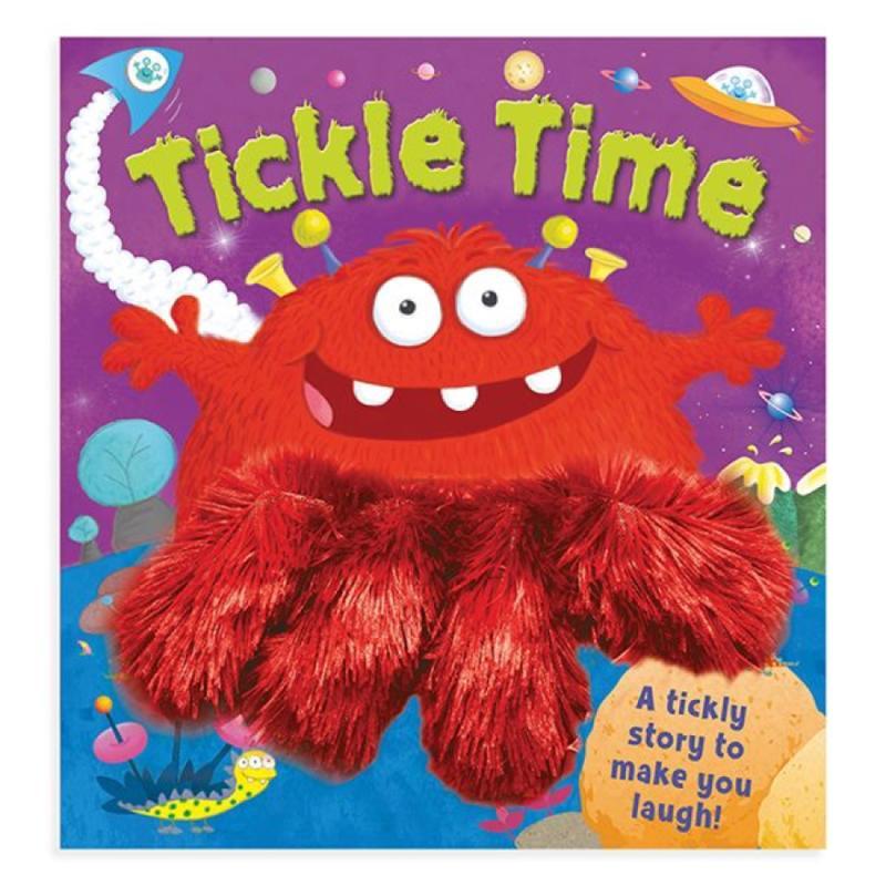Tickle Time Wiggle Fingers Board Book