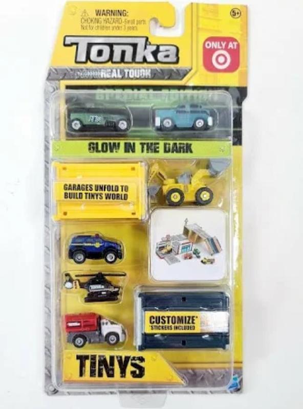 Tonka Glow In The Dark Tinys