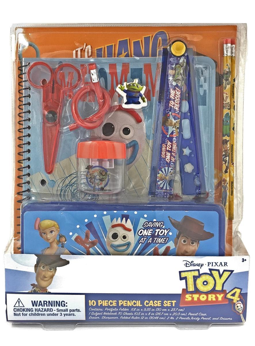 Toy Story 4 Stationery Set 10 Piece Set