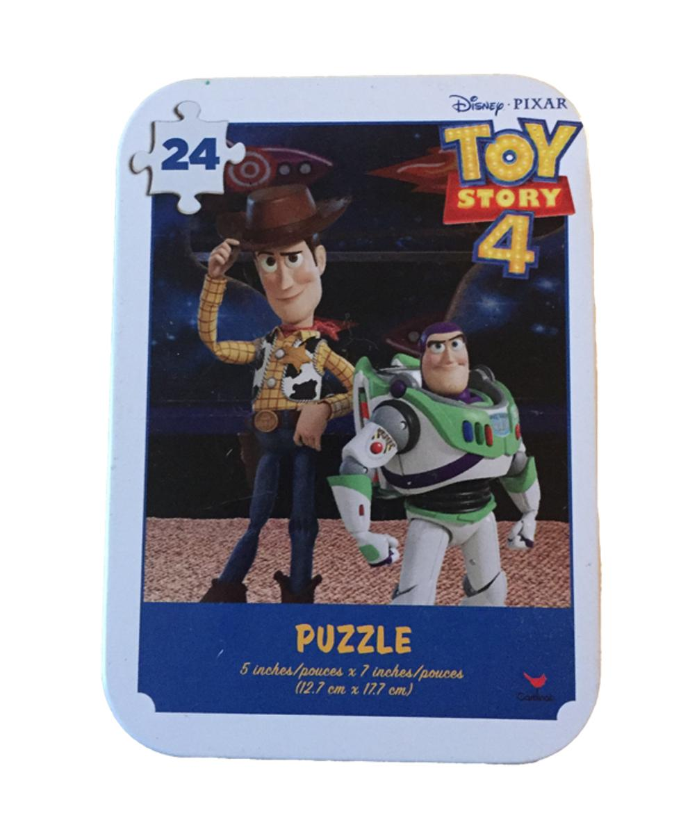 Toy Story 4 Puzzle In A Tin 24 Pieces