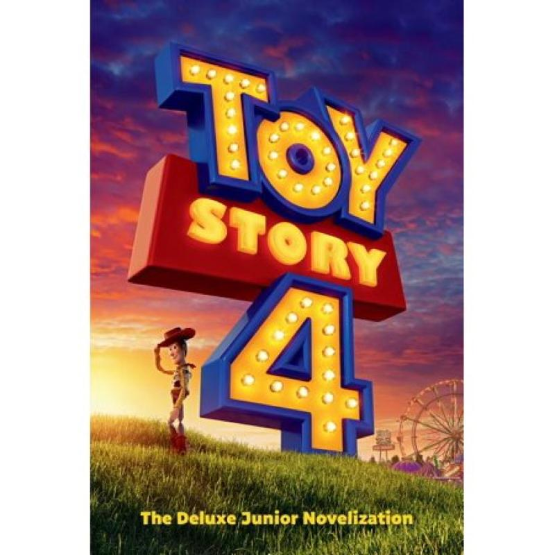 Toy Story 4 The Deluxe Junior Novelization